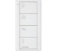Pico Keypad - 4 Button - Family Room Icons (White)