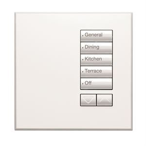 Homeworks QS SeeTouch Faceplate (UK Style) Arctic White
