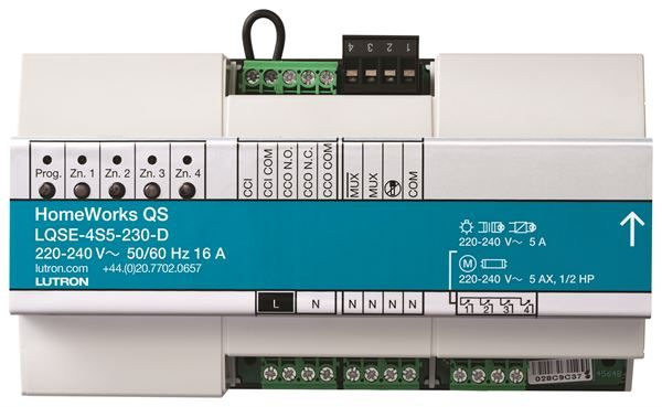 Homeworks QS Dinrail Switched Module (5A / Zone)